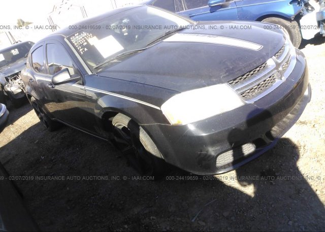 1c3cdzab2en108446 Salvage Black Dodge Avenger At Phoenix Az On