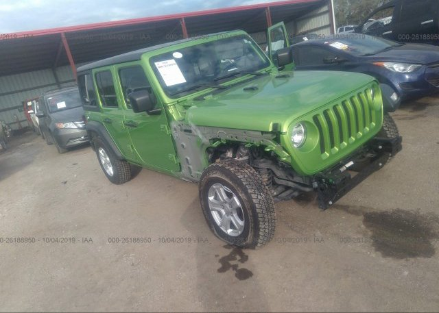 Inventory #150978447 2018 JEEP WRANGLER UNLIMITE
