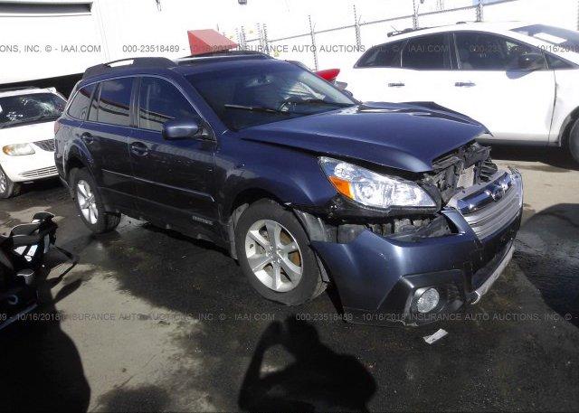 Inventory #800909530 2013 Subaru OUTBACK