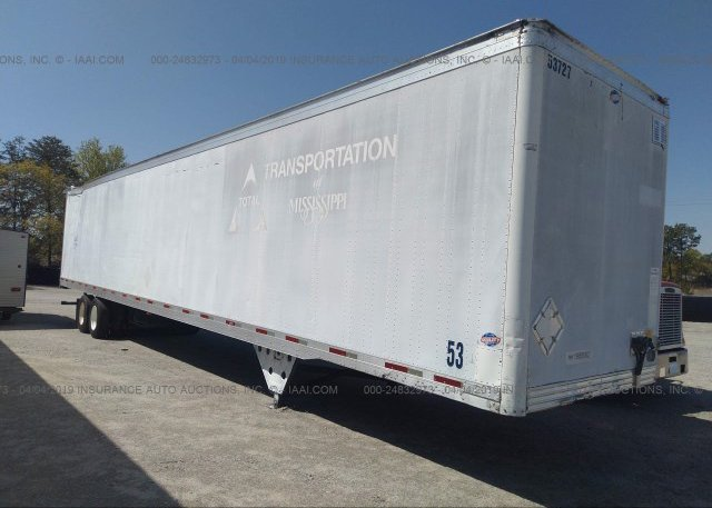 Inventory #873534263 2004 UTILITY TRAILER MFG VAN