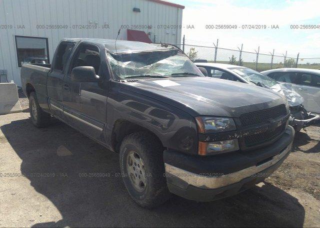 Inventory #631956000 2003 Chevrolet SILVERADO