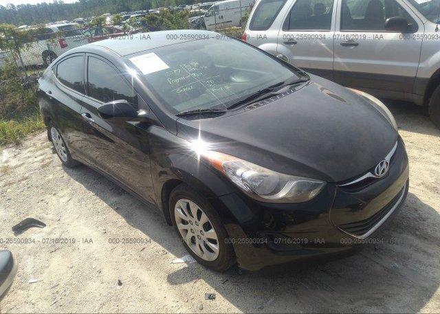 Inventory #883254145 2013 Hyundai ELANTRA