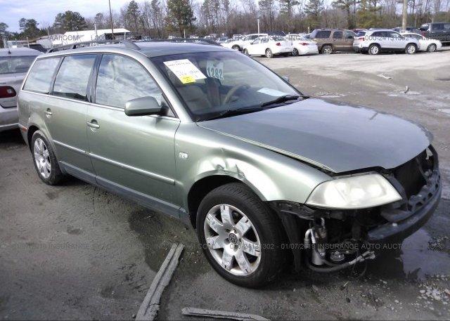 Inventory #461622830 2002 Volkswagen PASSAT