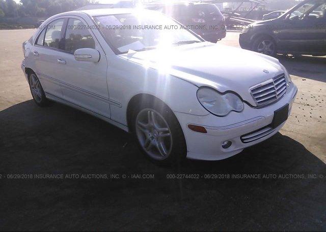Inventory #677305055 2006 Mercedes-benz C GENERATION 2006