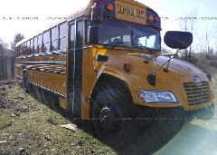 2017 BLUE BIRD SCHOOL BUS / TRAN