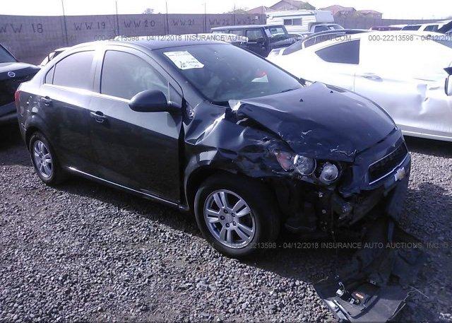 Inventory #781636613 2016 Chevrolet SONIC