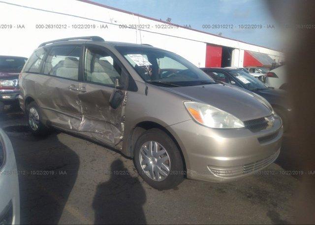 Inventory #252828827 2004 Toyota SIENNA