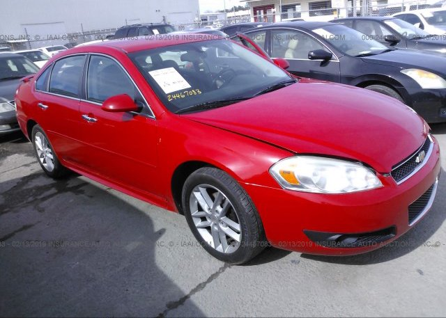Inventory #900306111 2012 Chevrolet IMPALA