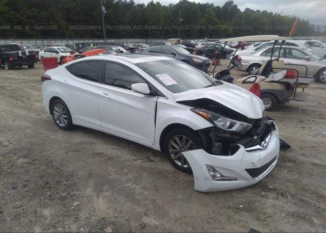 Inventory #485723797 2016 Hyundai ELANTRA