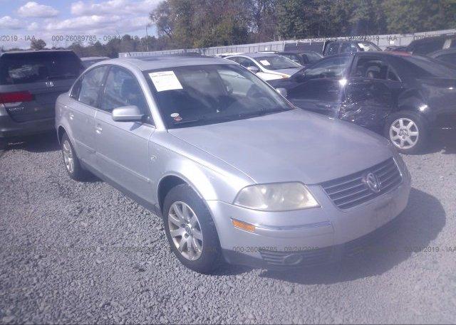 Inventory #220715448 2003 Volkswagen PASSAT