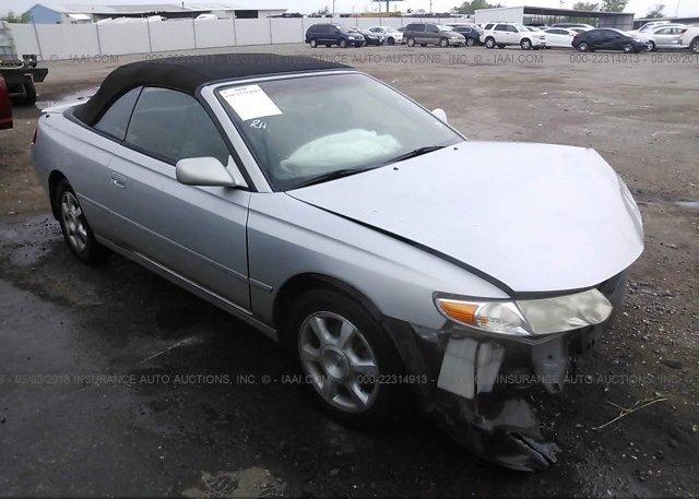 Inventory #473286881 2003 Toyota CAMRY SOLARA