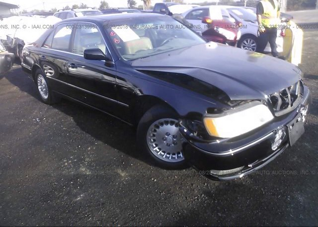 Jnkby31a21m101057 Salvage Certificate Black Infiniti Q45 At Bay
