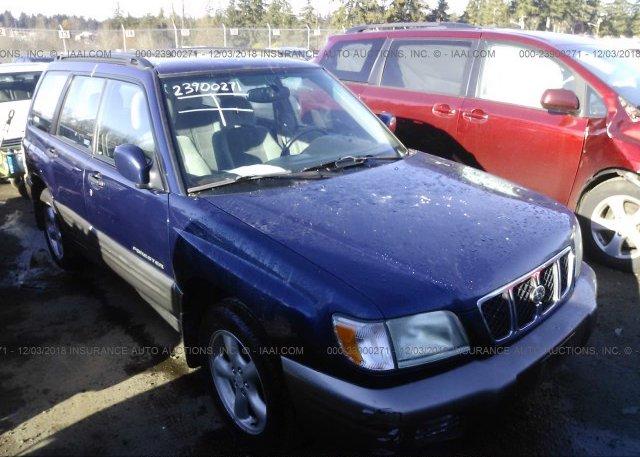 Inventory #538435193 2002 Subaru FORESTER