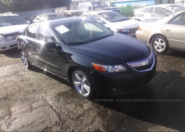 VDEFFE Salvage Black Acura Ilx At LAKE CITY GA On - Acura ilx 2018 black