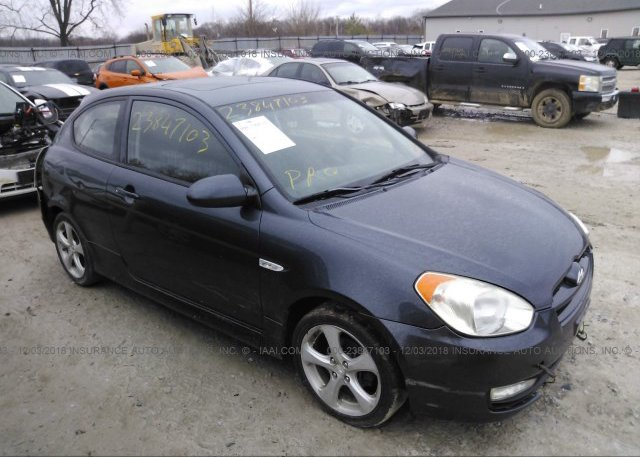 Inventory #667351033 2008 HYUNDAI ACCENT