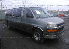 2006 Chevrolet EXPRESS G3500 - 1GAHG39UX61272718 Left View