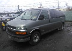 2006 Chevrolet EXPRESS G3500 - 1GAHG39UX61272718 Right View