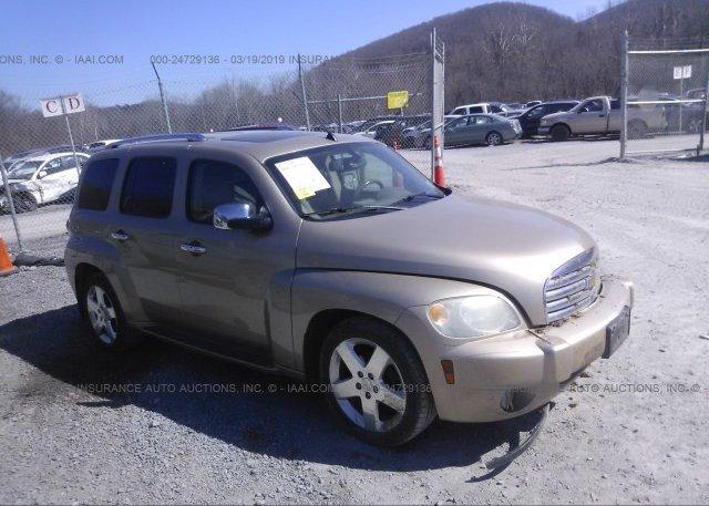 3gnda23p36s635855 Salvage Gold Chevrolet Hhr At Pulaski Va On