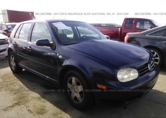 Inventory #123101575 2001 Volkswagen GOLF