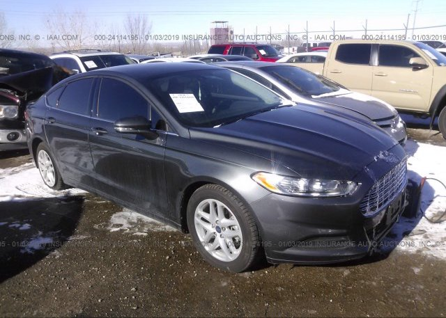 Inventory #240963780 2016 FORD FUSION