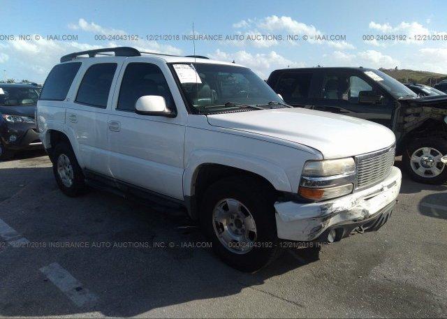 Inventory #392145128 2002 Chevrolet TAHOE