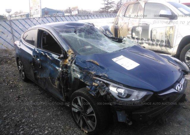 Inventory #622897697 2016 Hyundai ELANTRA