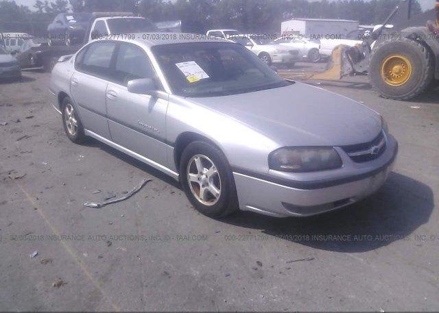 Inventory #585058255 2003 Chevrolet IMPALA
