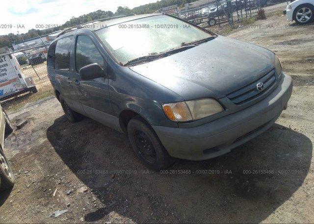 Inventory #115364935 2001 Toyota SIENNA