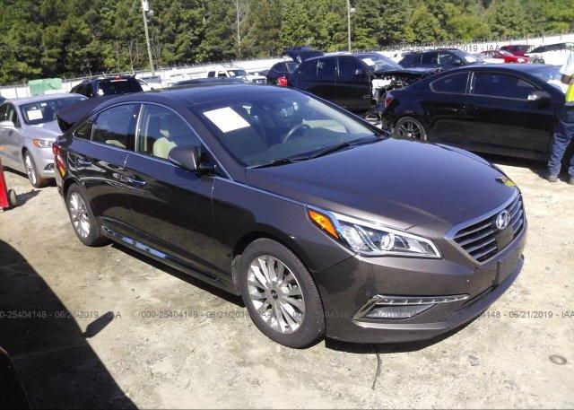 Inventory #816616448 2015 Hyundai SONATA