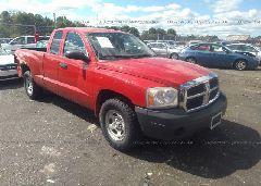 2006 Dodge DAKOTA - 1D7HW22K86S717163 Left View