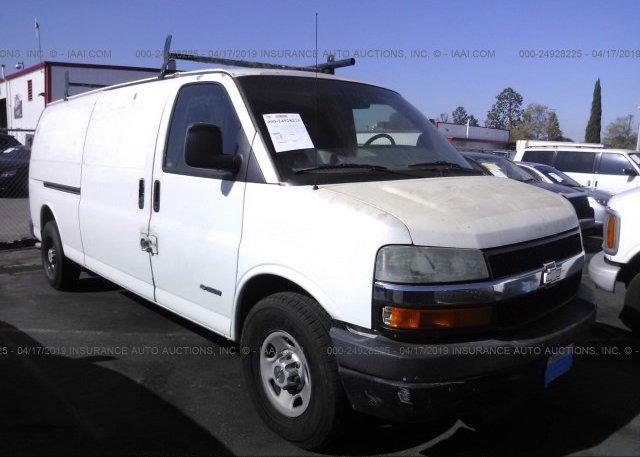 Inventory #381527825 2003 Chevrolet EXPRESS G3500