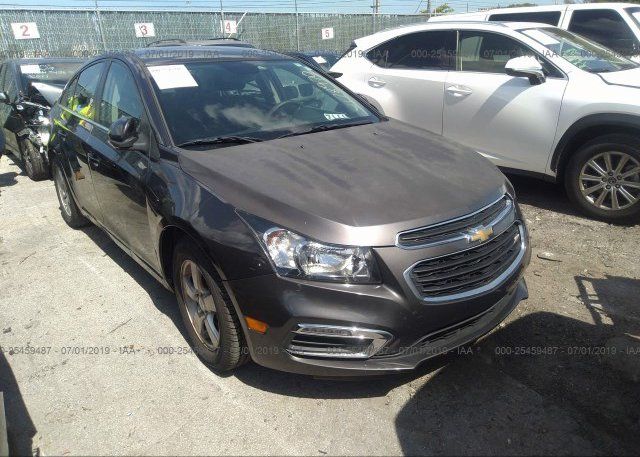 Inventory #314985742 2016 Chevrolet CRUZE LIMITED