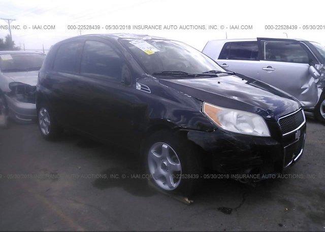 Inventory #408155103 2010 Chevrolet AVEO
