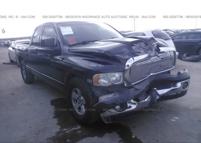 1D7HA18D04J120027, Salvage Title black Dodge Ram 1500 at