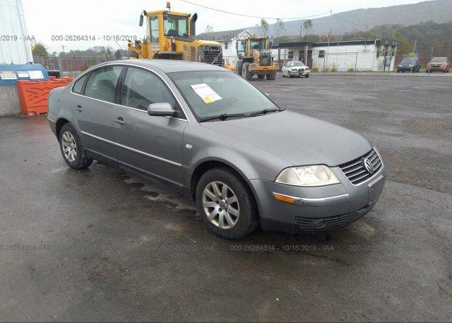 Inventory #527877225 2003 Volkswagen PASSAT