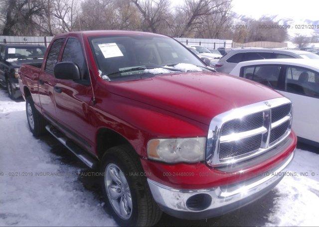 Inventory #597119763 2005 Dodge RAM 1500
