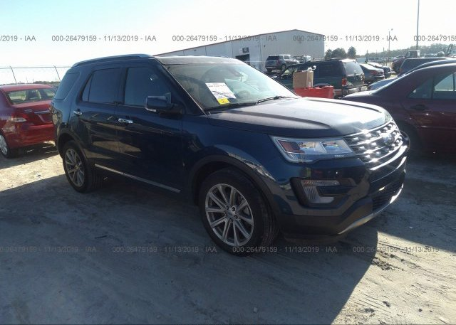 Inventory #754990029 2017 FORD EXPLORER