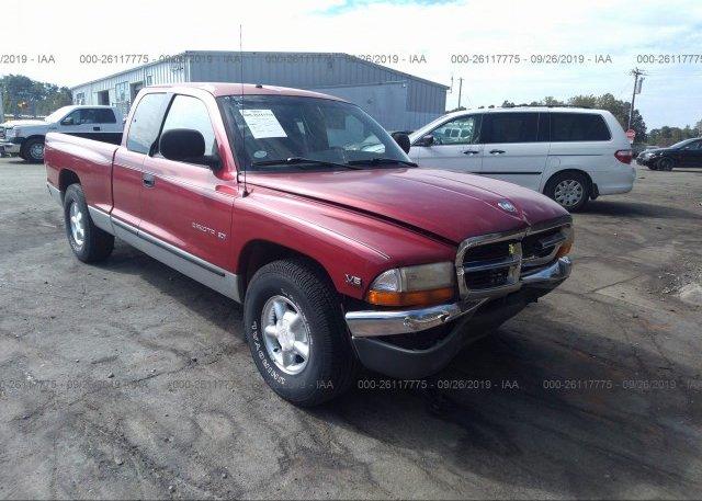Inventory #368088207 1998 Dodge DAKOTA