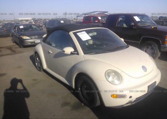 Inventory #512619208 2005 Volkswagen NEW BEETLE