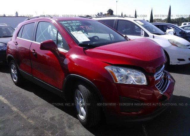 Inventory #468411528 2015 Chevrolet TRAX