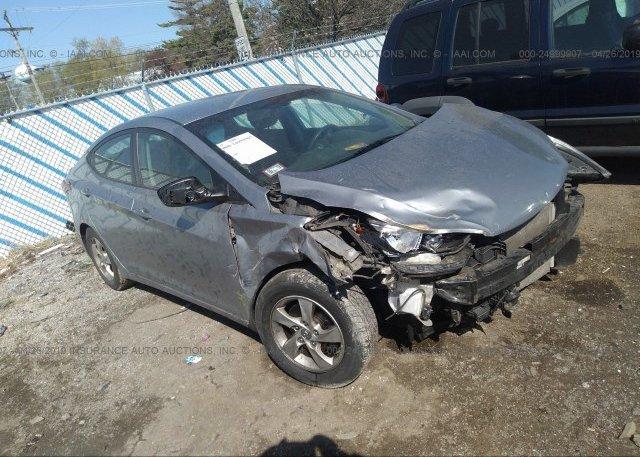 Inventory #781015512 2015 Hyundai ELANTRA