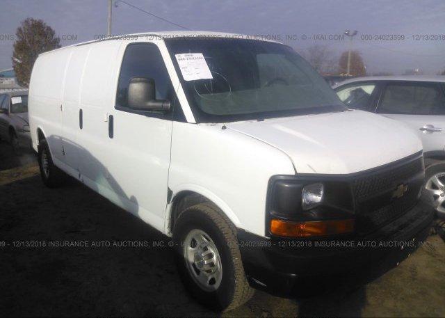 Inventory #908376114 2012 Chevrolet EXPRESS G3500