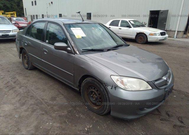 Inventory #208739847 2005 Honda CIVIC