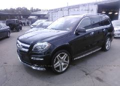 2014 Mercedes-benz GL - 4JGDF7DE2EA355215 Right View
