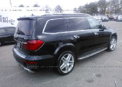2014 Mercedes-benz GL - 4JGDF7DE2EA355215 rear view