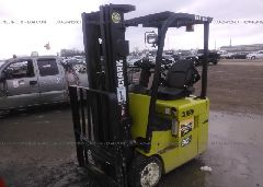 2008 CLARK FORKLIFT - TMX25018359803KF Right View