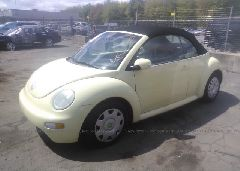 2005 Volkswagen NEW BEETLE - 3VWBM31Y95M370397 Right View