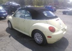 2005 Volkswagen NEW BEETLE - 3VWBM31Y95M370397 [Angle] View