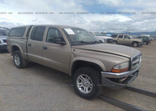 Inventory #756981017 2004 Dodge DAKOTA