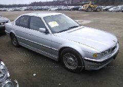 2001 BMW 740 - WBAGG834X1DN88763 Left View